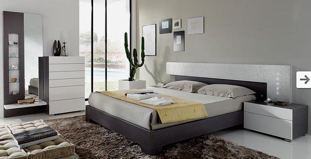 El dormitorio for Decoracion dormitorio gris
