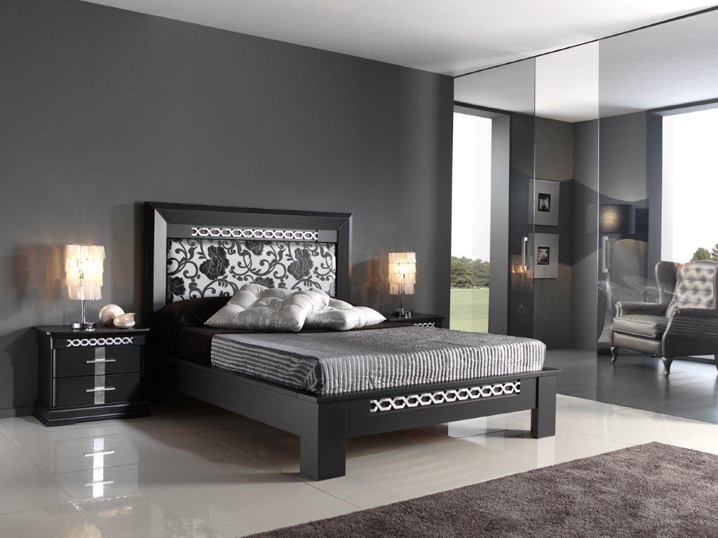 El dormitorio for Cuarto color gris